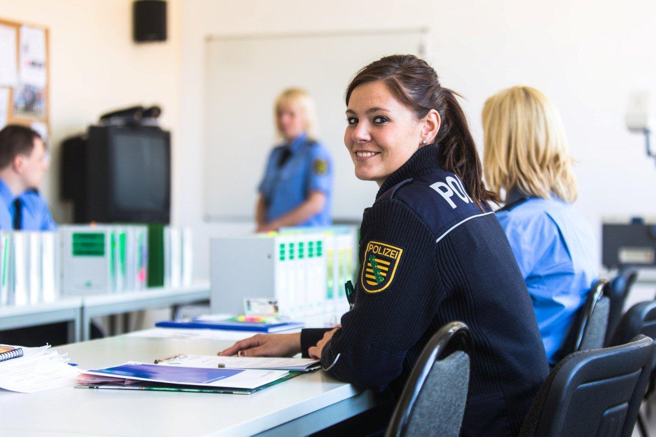 Ausbildung bei der Polizei Sachsen