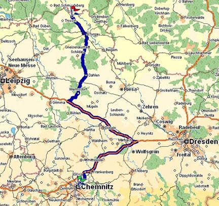 Karte Chemnitz.Polizei Sachsen Polizeiverwaltungsamt Anfahrt Von Chemnitz